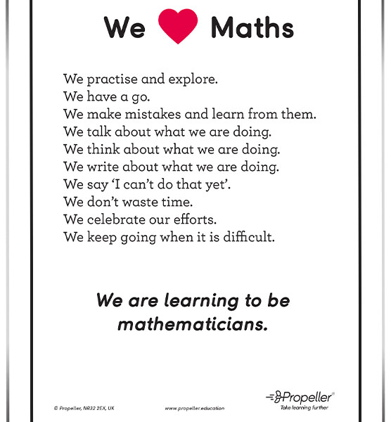 We Love Maths – FREE Download