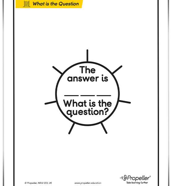 """What is the Question?"" FREE Download"