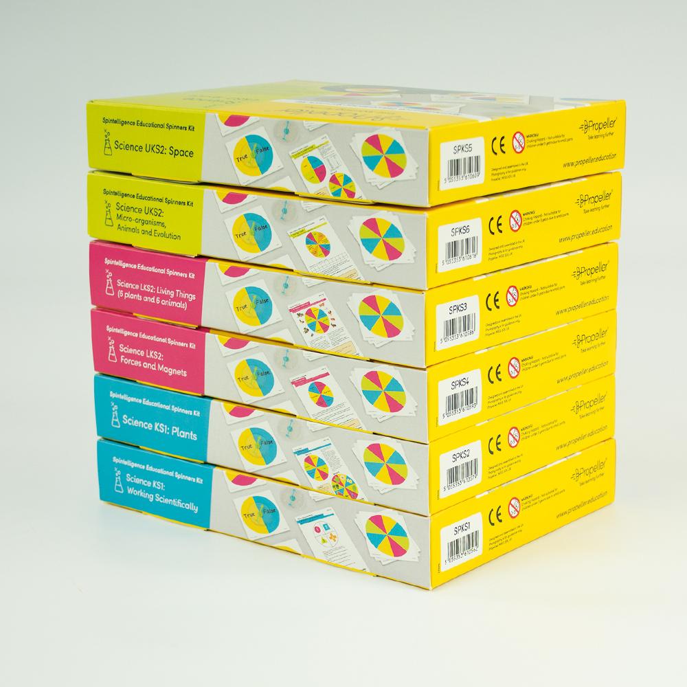 SPKSSPA Spintelligence Science Super Pack