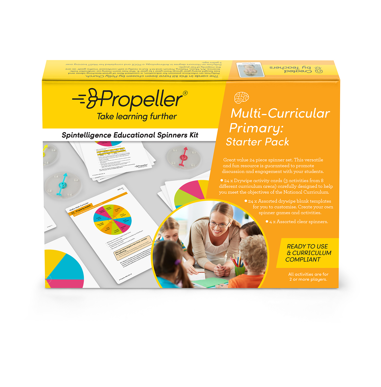 Multi-curricular Spinners Kit ~ Propeller Education