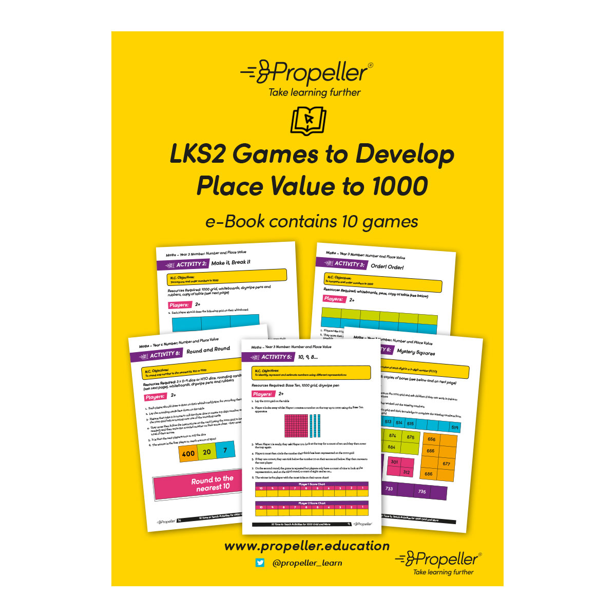 MT0132 DDGBOOK5-Games-to-Develop-Place-Value-to-1000